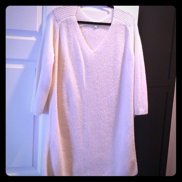 GAP Dresses & Skirts - Gap white sweater dress